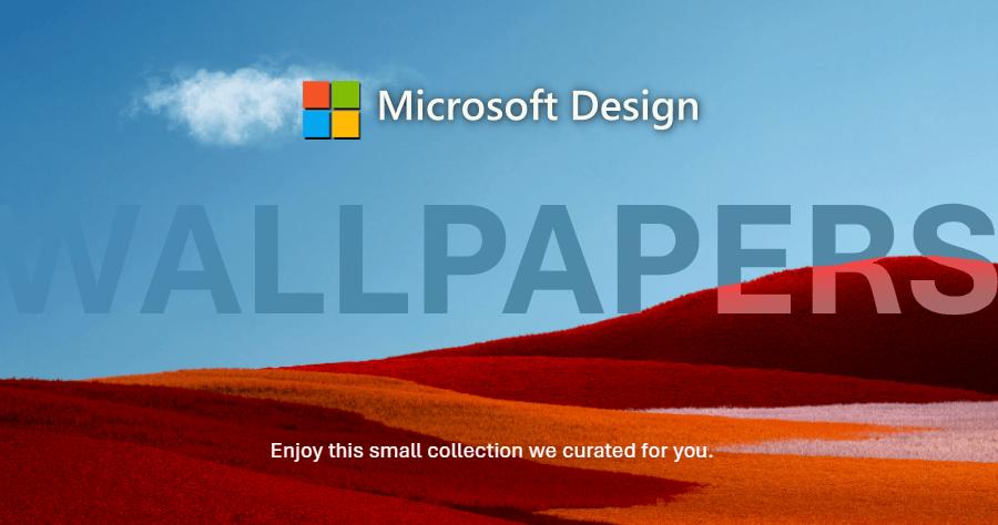 Microsoft Design - Wallpapers!超多精美電腦桌布讓你免費下載!