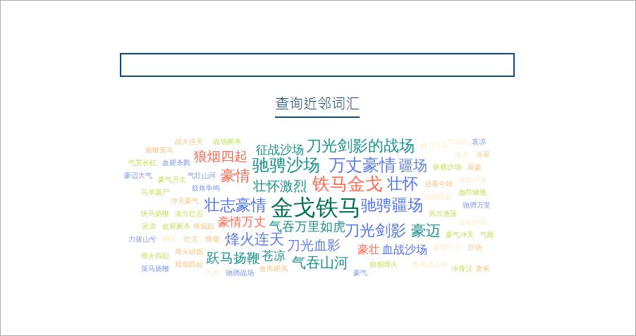 查詢鄰近詞彙工具-不管是中文、英文任或成語,網站都能幫你找出更多鄰近詞彙!