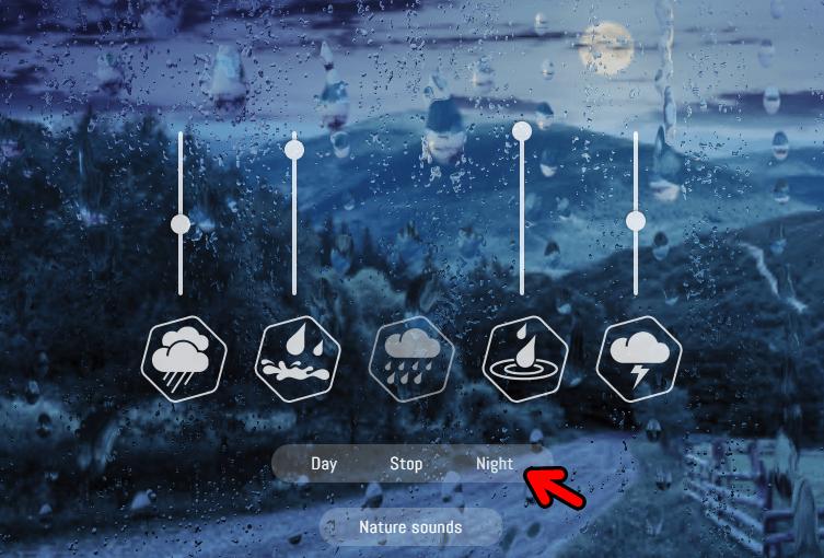 Rainbow Hunt 超美的雨聲動態播放器!藉由雨聲,讓你思慮更清晰!
