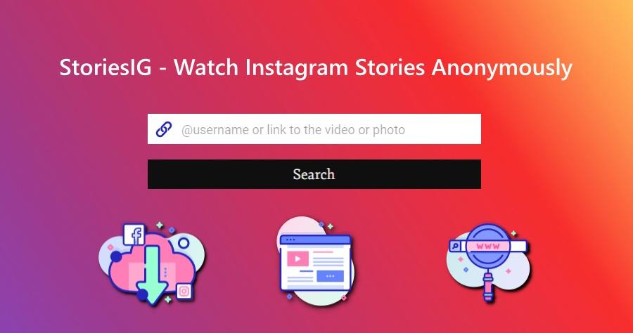StoriesIG 超方便的 IG 照片影片下載工具!把網址 / ID 貼上就能一鍵下載!