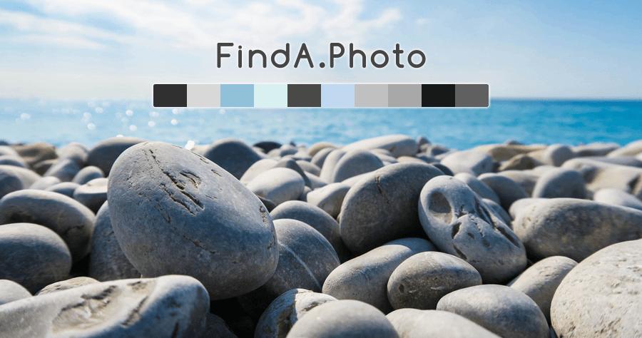 FindA.Photo 顏色為標籤的免費圖庫,配色方便有效率