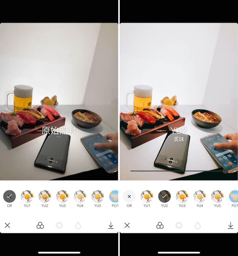 Foodie 濾鏡 App 推薦