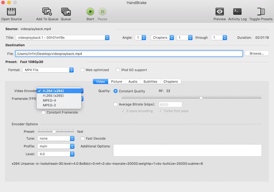 Mac 影片轉黨軟體