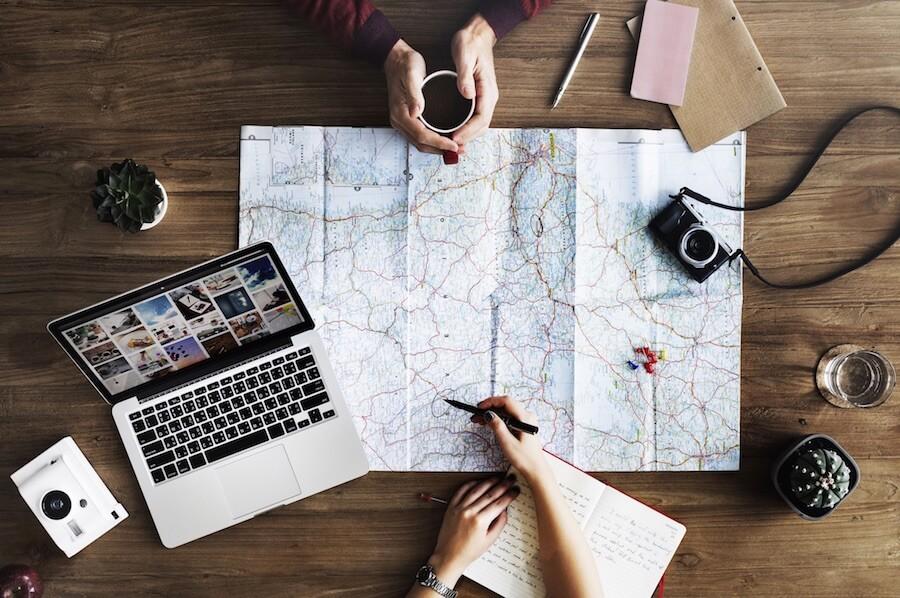旅行規劃Mac電腦