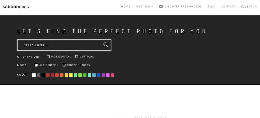 圖片篩選工具 垂直圖片 水平圖片 顏色分類
