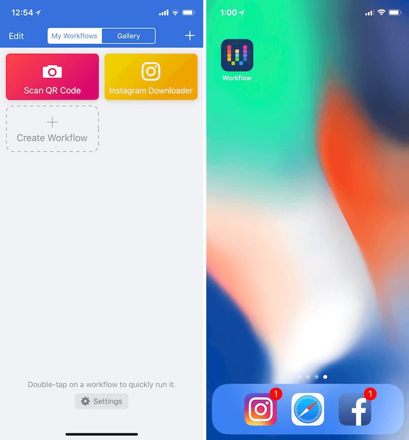 Workflow Instagram 腳本