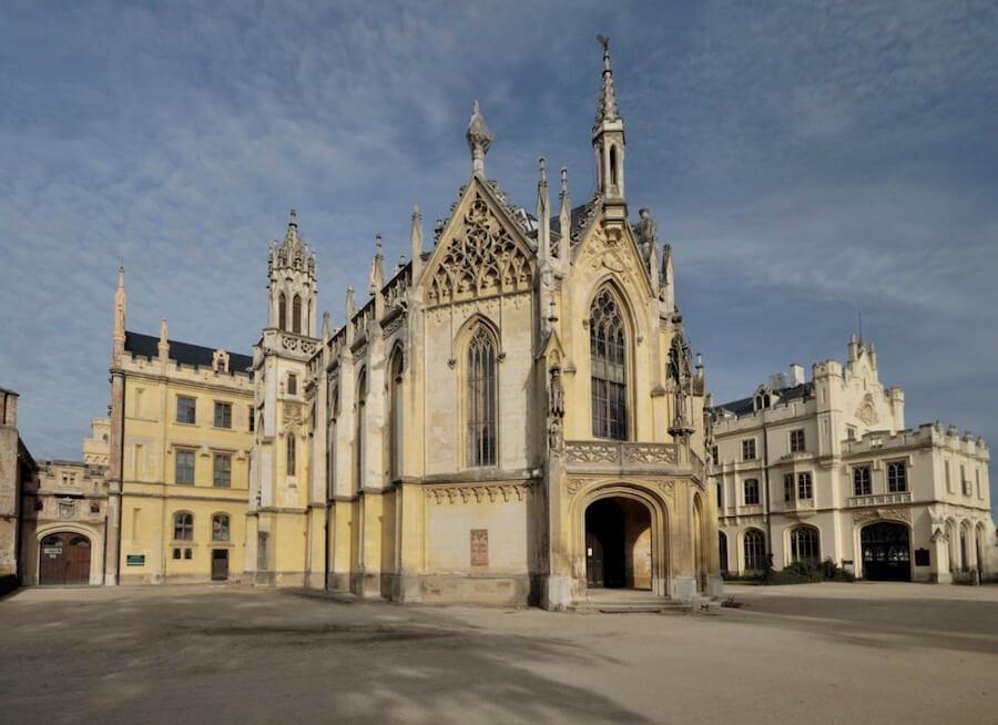 萊德尼采 歐洲 捷克 教堂