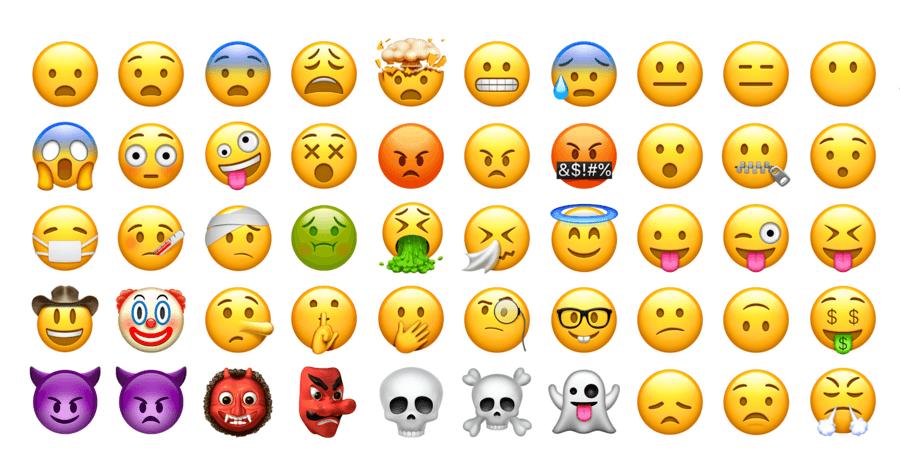 emoji更新2018