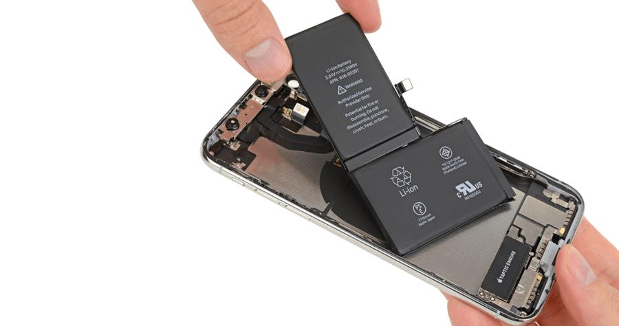 iPhone X 電池容量