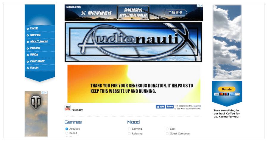 Audionautix 免費音樂素材下載 Jason Shaw 影片音樂素材
