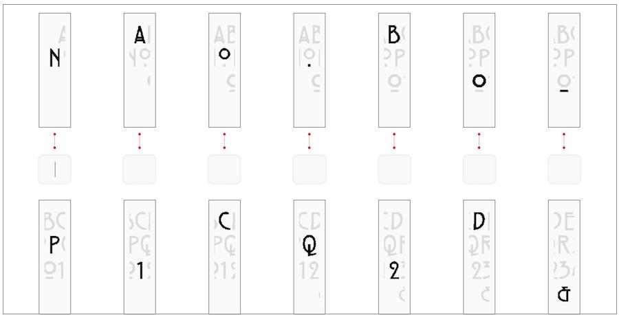 英文字型辨識 字型判斷 看圖找字