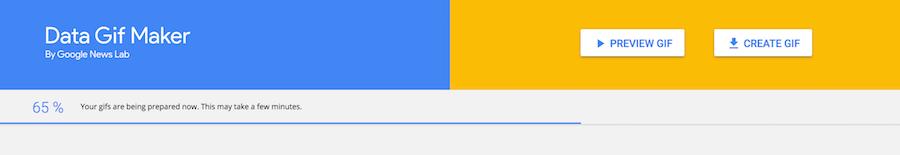 Google Data GIF Maker 數據比較 GIF產生器 量化圖表