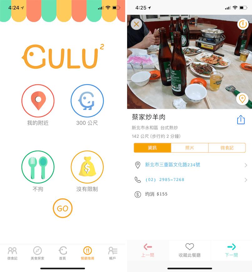 Gulu 美食推薦 美食搜集 推薦美食 晚餐吃什麼 午餐吃什麼
