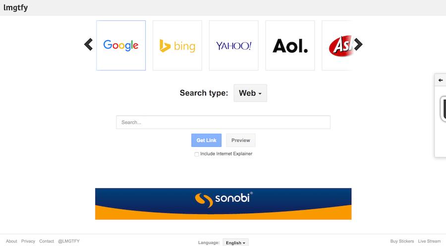 LMGTFY 怎麼Google 找資料 教學