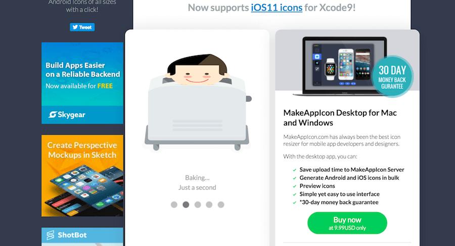 LOGO 烤麵包機 Make App Icon APP圖示尺寸 尺寸調整