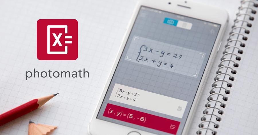 Photomath 數學 掃描APP 數學解答 改數學 作答APP