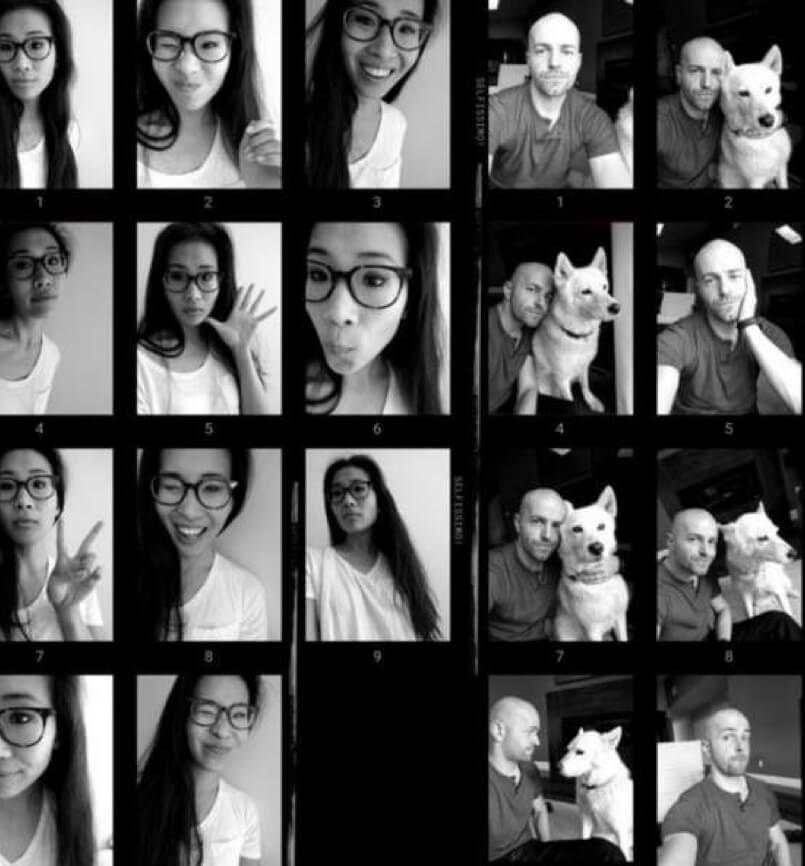 自動拍照 APP 黑白照