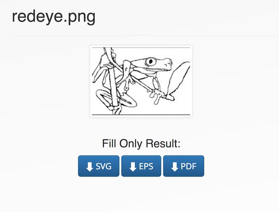 Vector Magic 點陣圖轉向量圖 SVG EPS PDF 轉檔