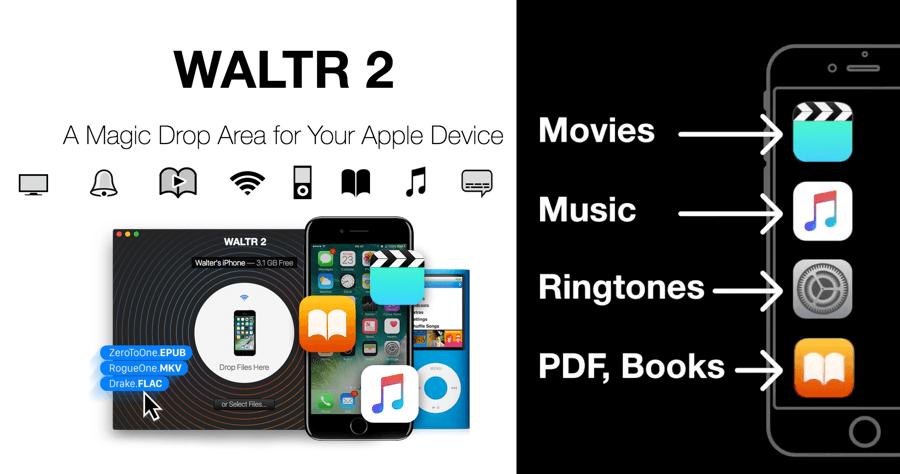 電腦傳音樂 iPhone WALTR2
