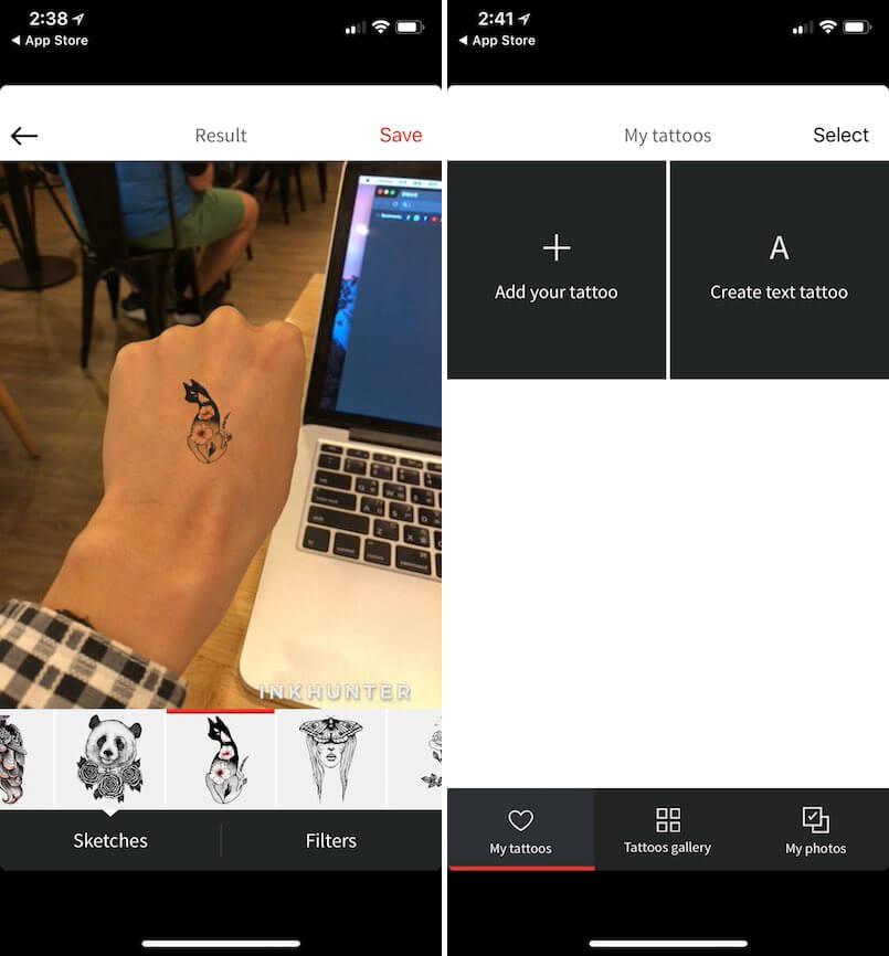 刺青 DIY 相片 文字 自己做