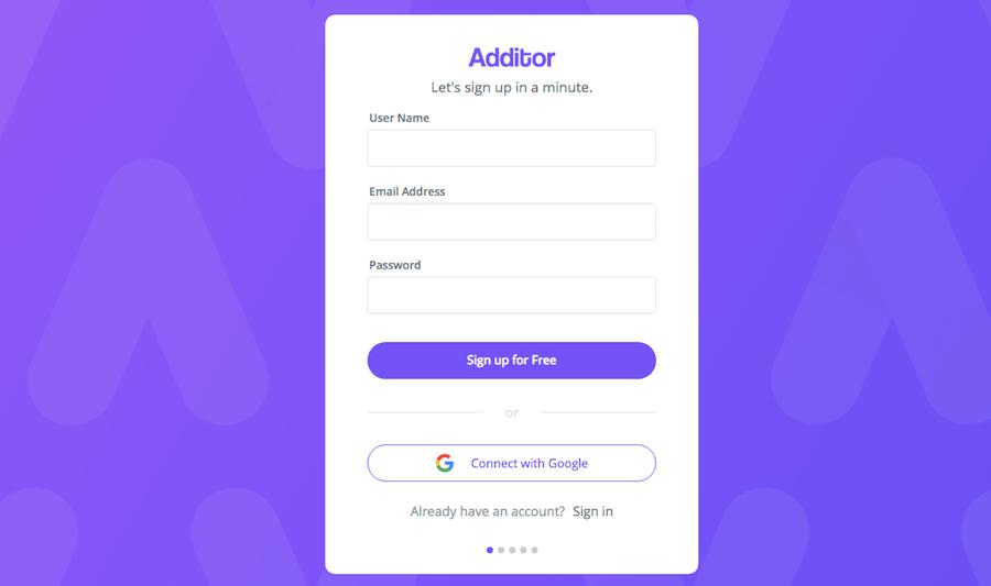 Additor 筆記工具 Chrome擴充