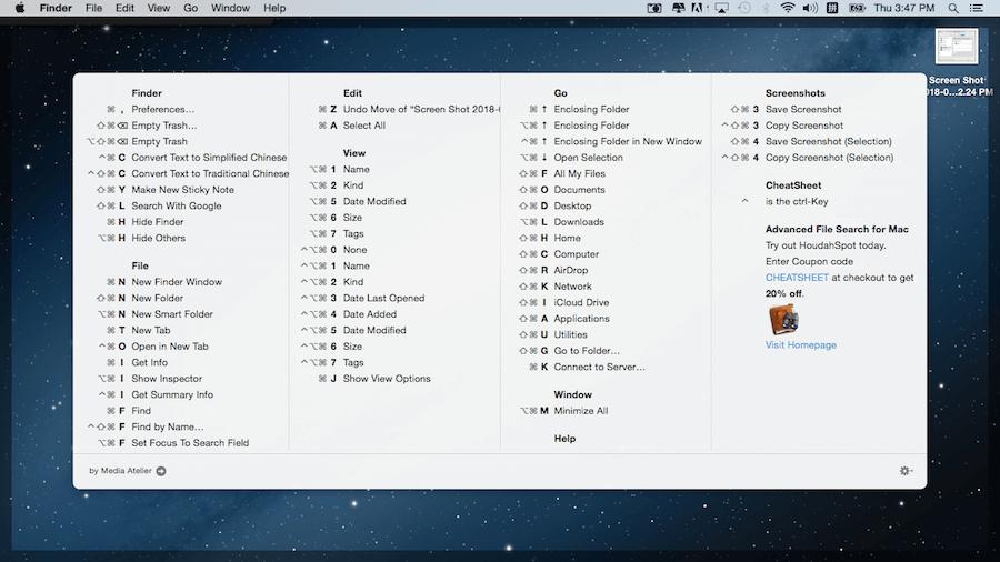 command mac 快速鍵