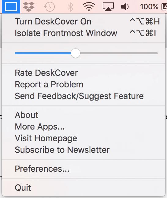 DeskCover Mac 桌面管理 視窗管理