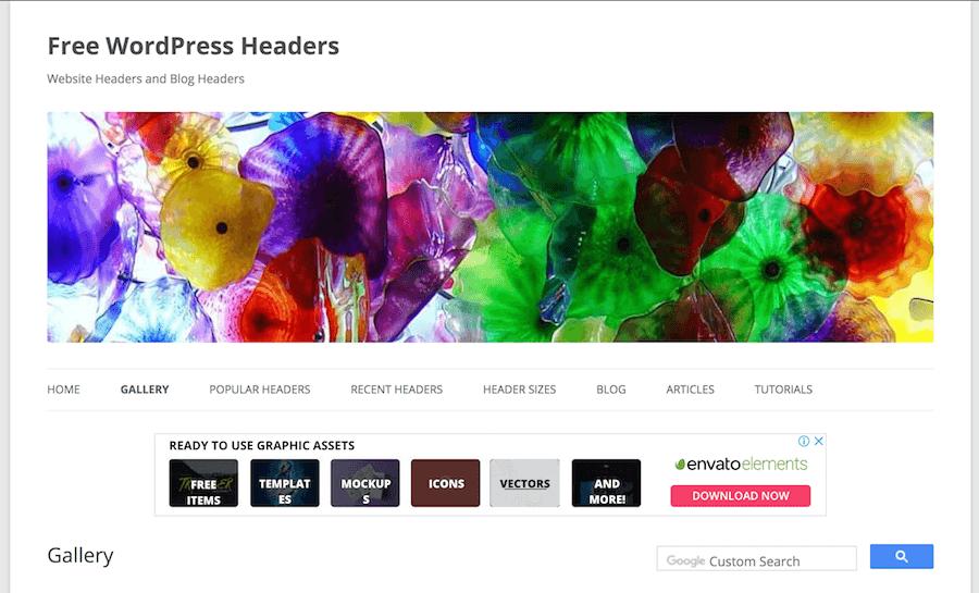 Free Wordpress Header 網頁首圖 網站圖示 網頁封面圖