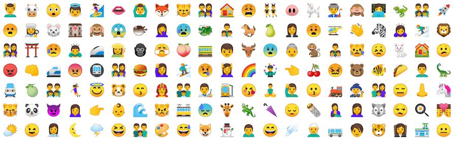 Android8.0 OREO Emoji 表情符號
