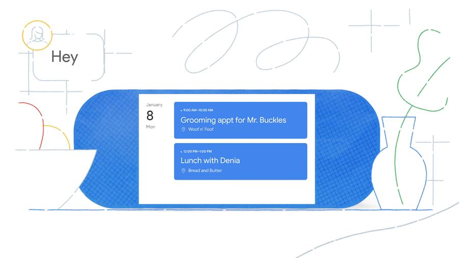行事曆 Smartdiplay Google LG Lenovo