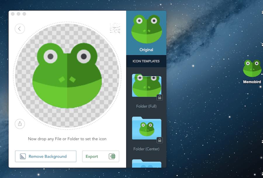 Image2icon 資料夾圖示 青蛙