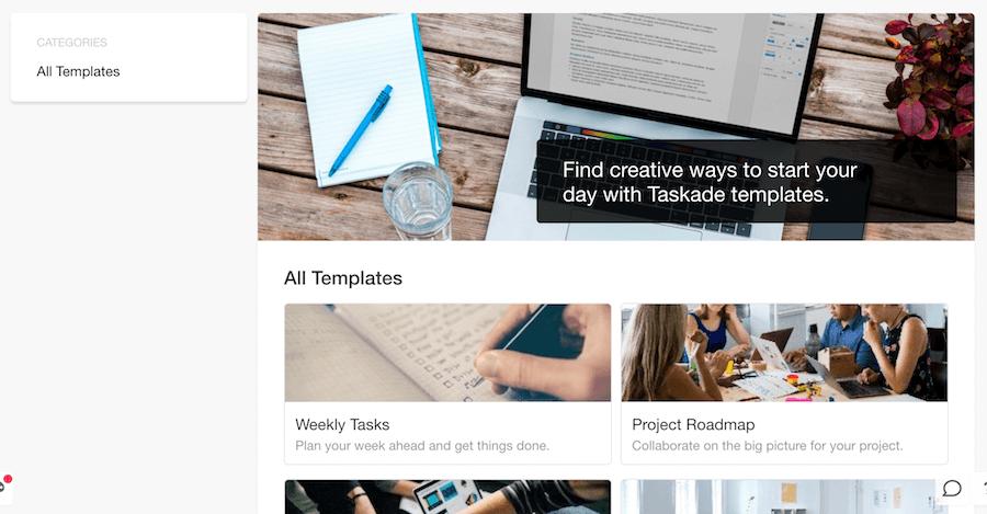Taskade Chrome 團隊協作 生產力工具 Chrome 擴充推薦