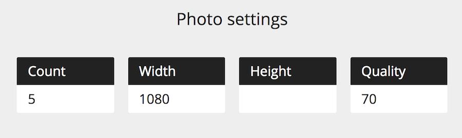 照片設定 長寬 尺寸 下載張數