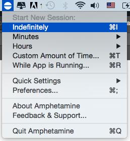 Amphetamine 防止休眠 Mac