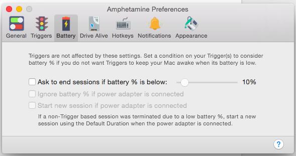 Mac 電量 休眠