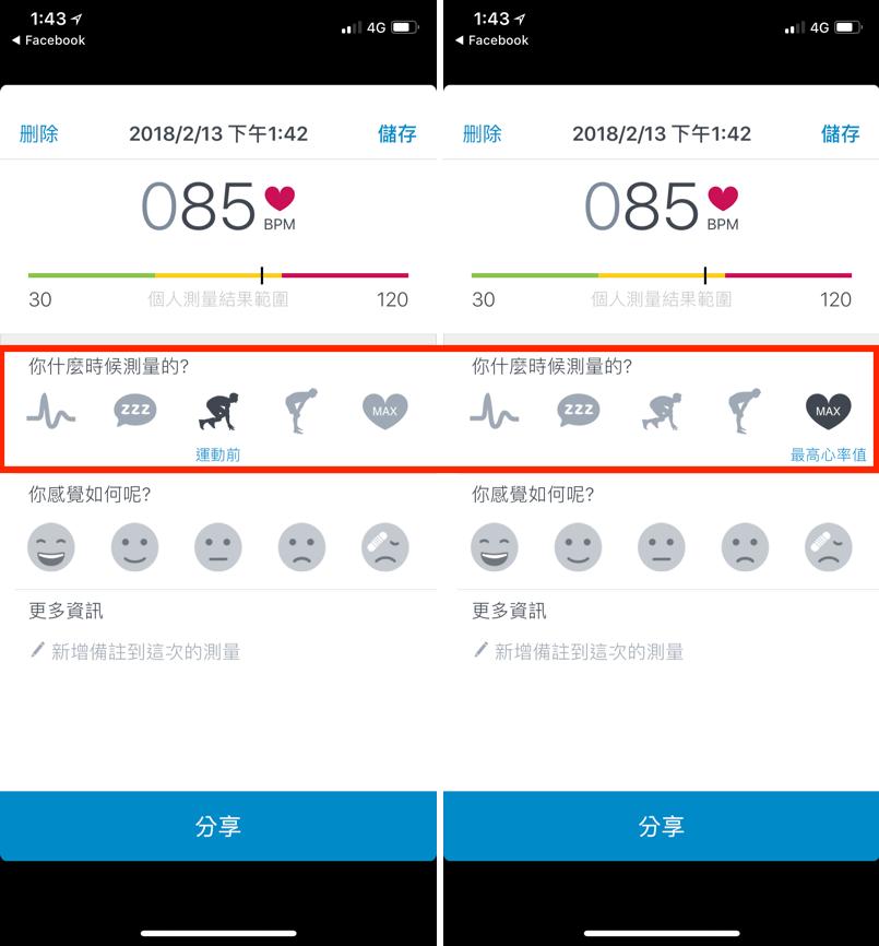 心率測量 靜息心率