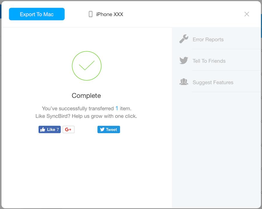 SyncBird iTunes 替代品 iPhone 傳音樂 傳照片