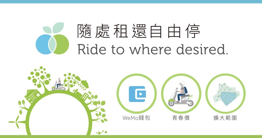 Wemo 租車 免費
