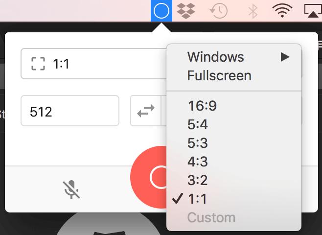 Mac 螢幕錄影