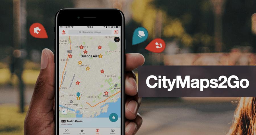 CityMaps2Go 離線地圖