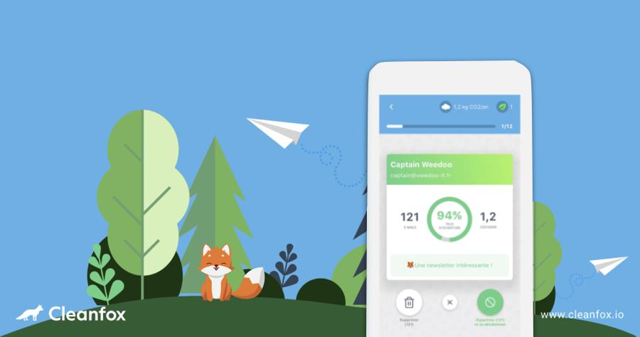 CleanFox Email 清理 取消訂閱 App