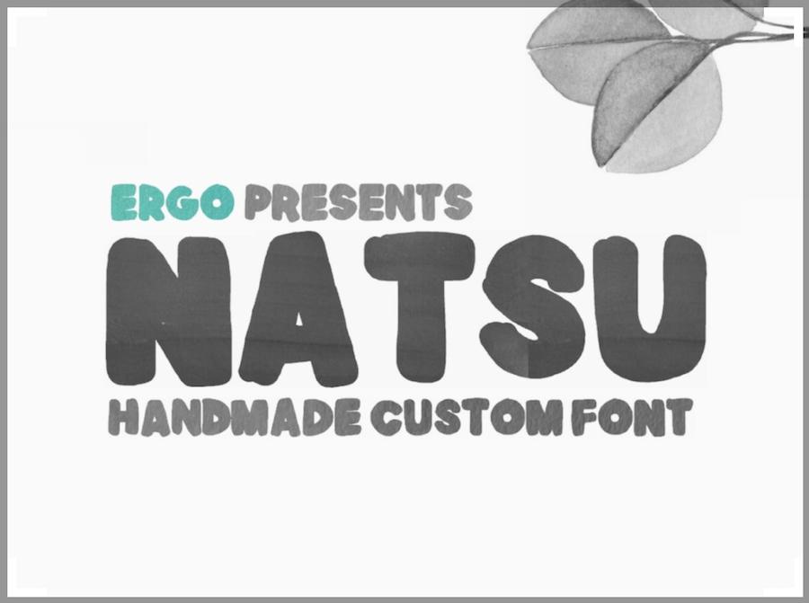 Natsu 字體