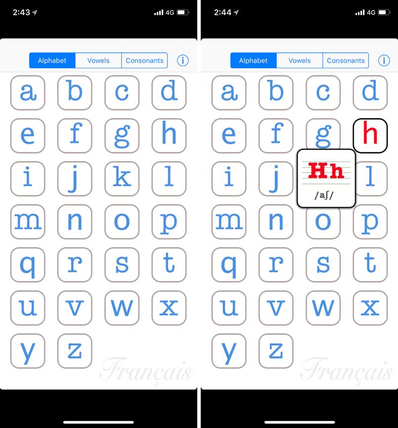 法文 發音 App