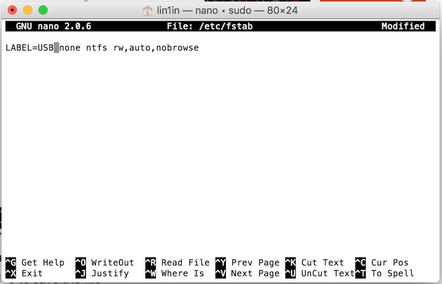 Mac 讀取 NTFS 隨身碟
