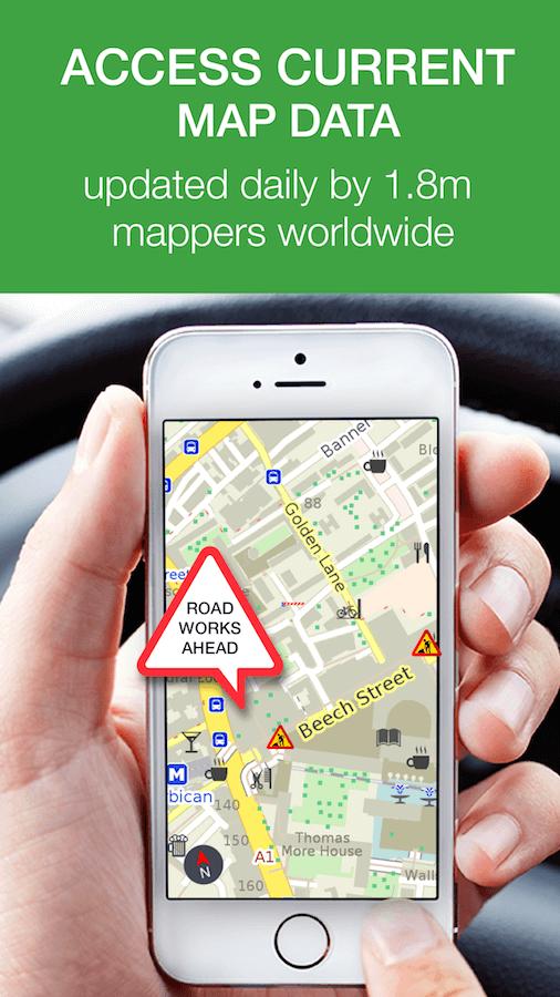Mapsme 離線地圖 永久免費