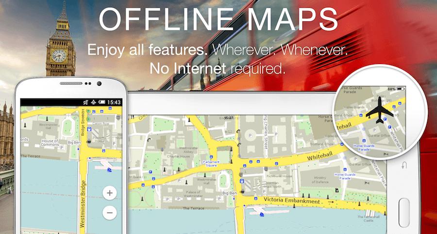 Mapsme 世界離線地圖