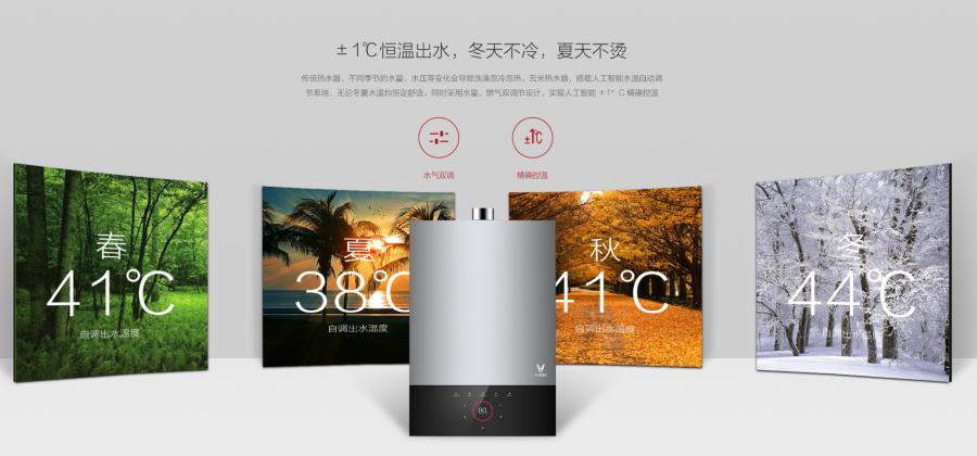 雲米熱水器 AI 人工智慧