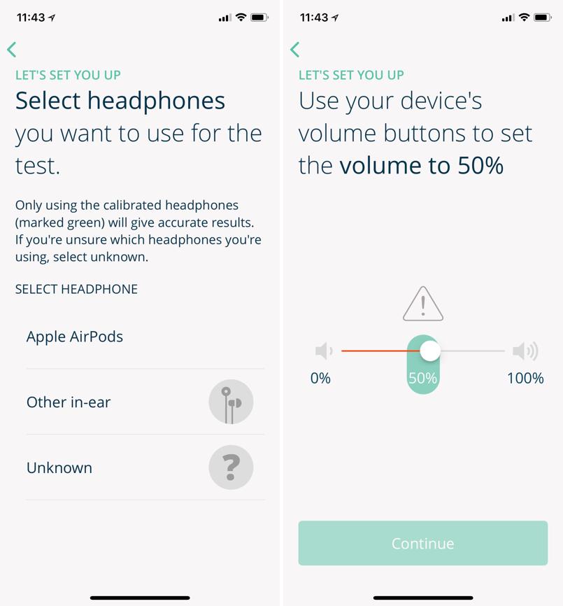 聽力測驗 App