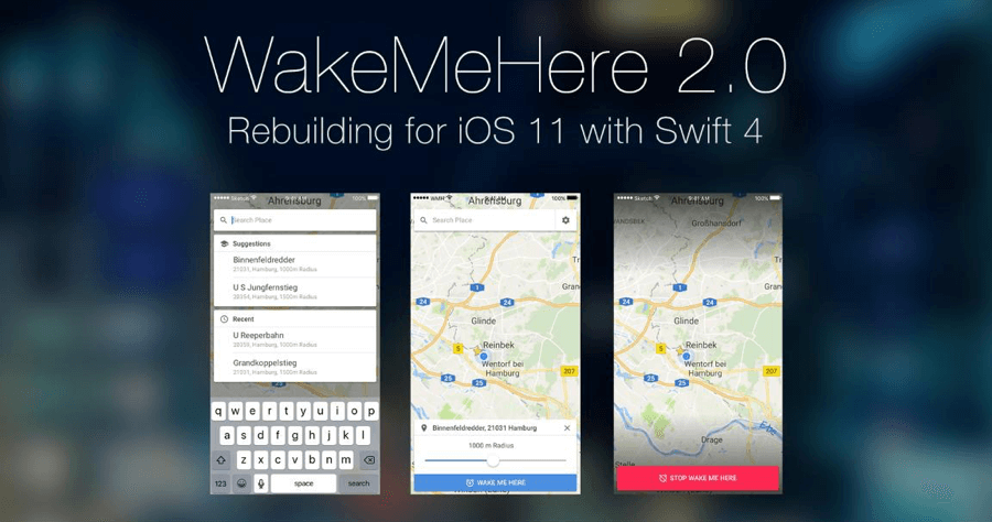 WakeMeHere 到站提醒 到點提醒