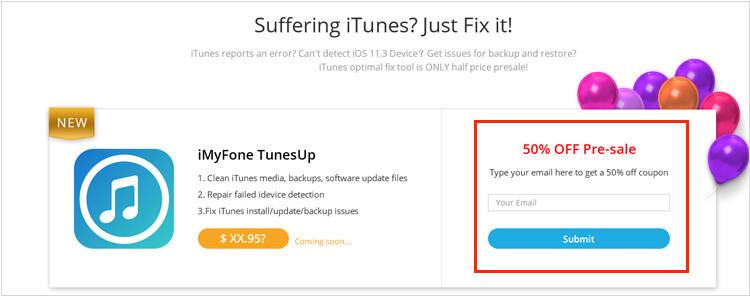 iMyFone Umate iOS11.3 限時免費